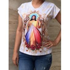 Camiseta Sagrado Coração de Jesus.
